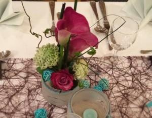 Luthers Carpe Diem - festlicher Blumenschmuck